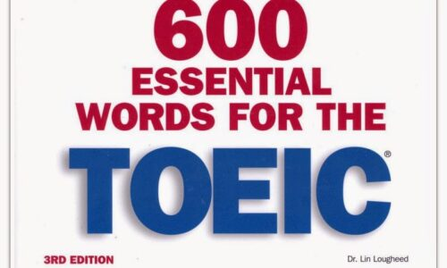 Download 600 Essential Words For The TOEIC PDF Miễn Phí