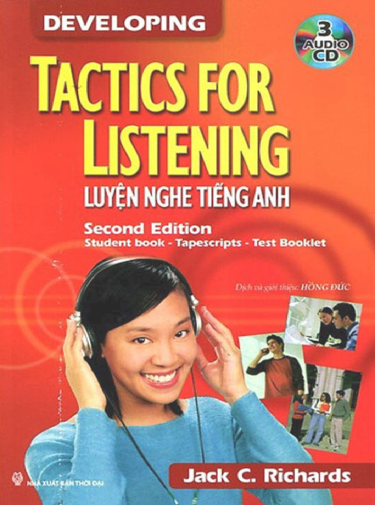 Cuốn sách Tactics for Listening Developing