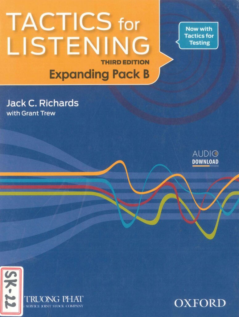 Cuốn sách Tactics for Listening Expanding