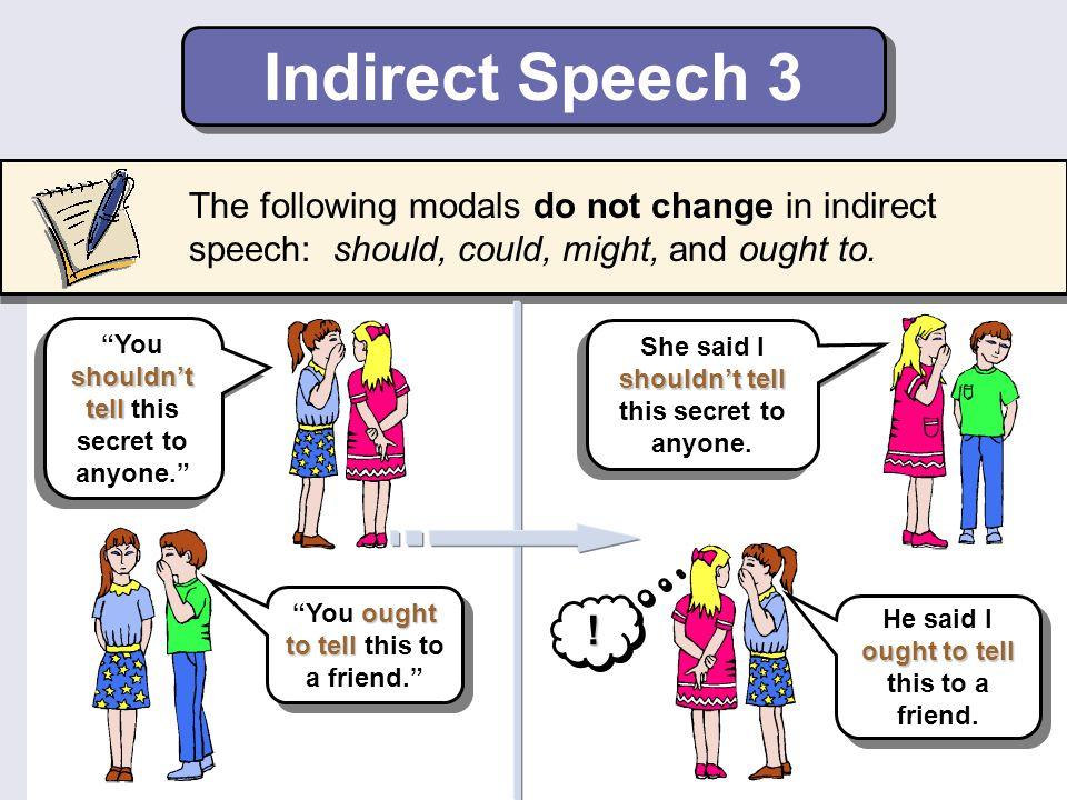 Trường hợp đặc biệt khi chuyển từ câu trực tiếp sang câu gián tiếp