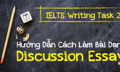 Hướng dẫn từ A - Z cách viết Discussion Essay - IELTS Writing