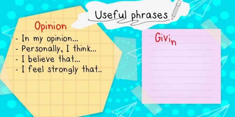 Cách viết opinion essay theo đúng cấu trúc