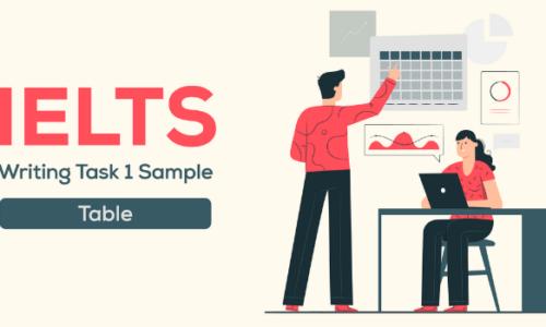 IELTS Writing task 1 dạng Table: Hướng dẫn chi tiết cách viết hay