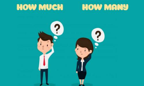 Trọn bộ bài tập How much và How many - Cách làm chi tiết