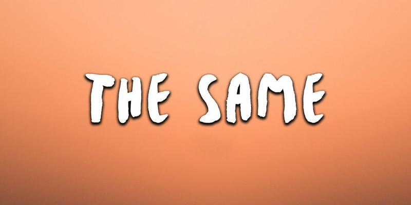 """Vị trí của """"the same"""" trong câu"""