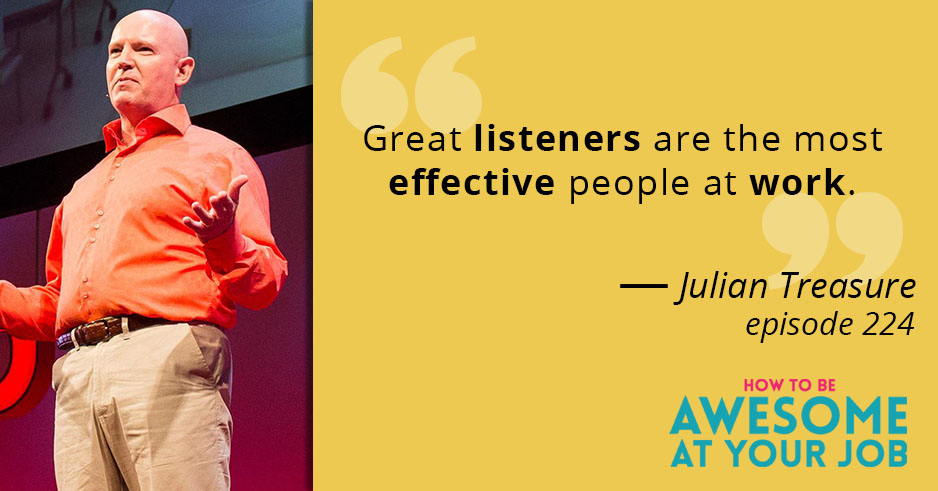 Julian Treasure: How to speak so that people want to listen