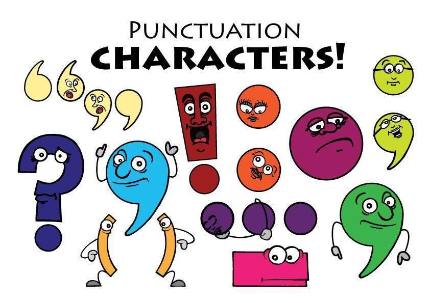 Cách sử dụng của dấu câu trong tiếng Anh