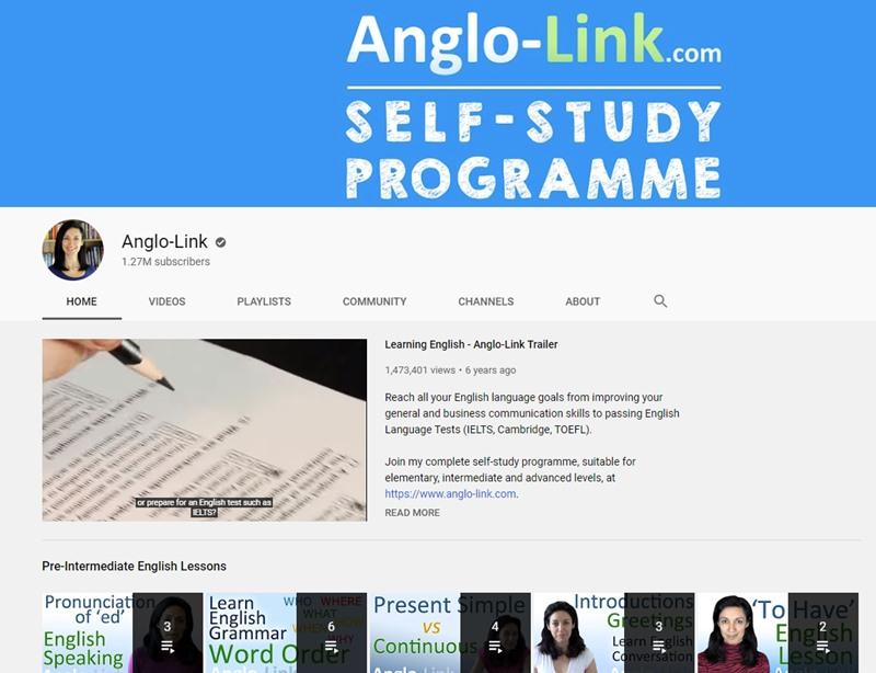 Kênh Anglo Link