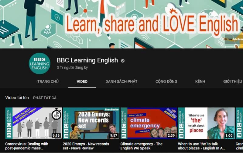 Kênh BBC Learning English