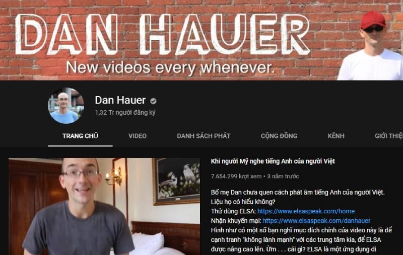 Kênh Dan Hauer