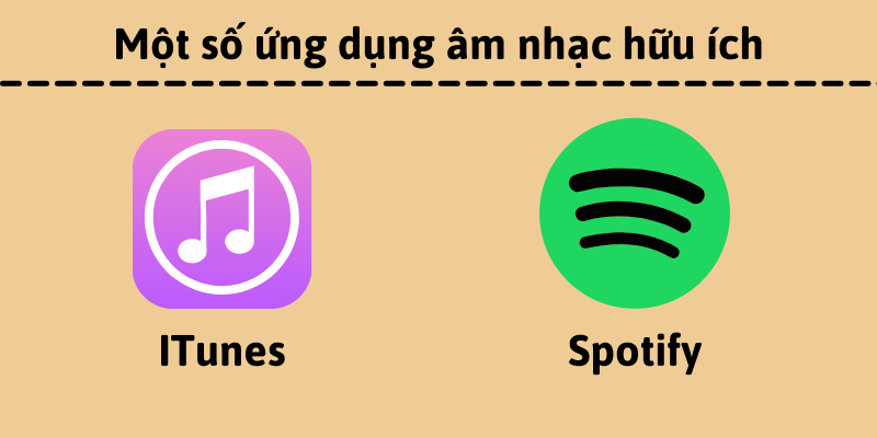Một số ứng dụng âm nhạc hữu ích