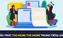 Nắm chắc cấu trúc the more – the more trong tiếng Anh