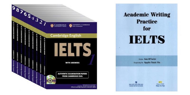 Sách ôn tập IELTS