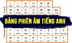 Cách viết và đọc bảng phiên âm tiếng Anh quốc tế đầy đủ nhất